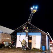 Milbank Fire Department Quickly Controls Blaze at Gesswein Motors