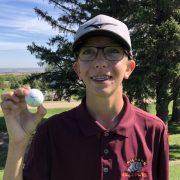 Jonathan DeBoer Hits Hole-in-One at Sisseton Golf Meet