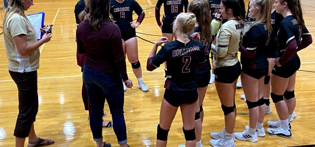 Milbank Volleyball Teams Defeat Ortonville