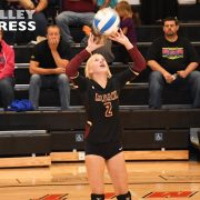 Varsity Volleyball Team Feels the Heat at Hamlin
