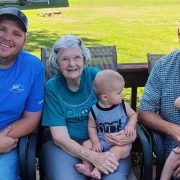 Johnson Family Celebrates Four Generations