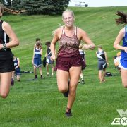 Milbank Cross Country  Competes at Huron Invitational
