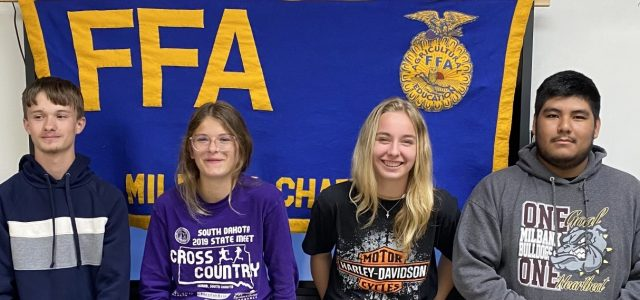 Milbank FFA Range Team Places Second at State