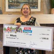 Milbank Receives $5000 Healthy Hometown Community Award