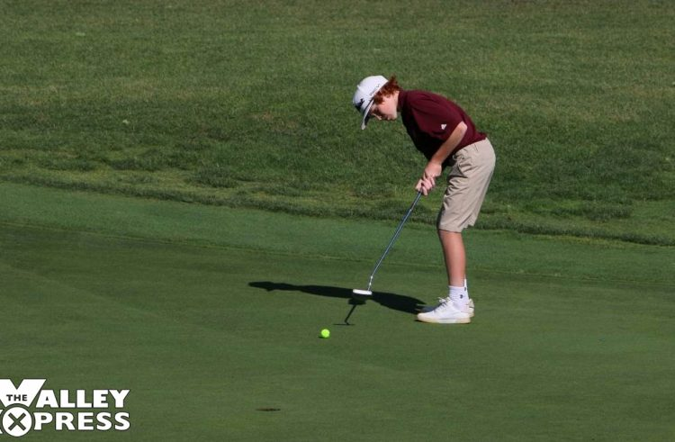 DeBoer and Fischer Play in State Golf Tournament