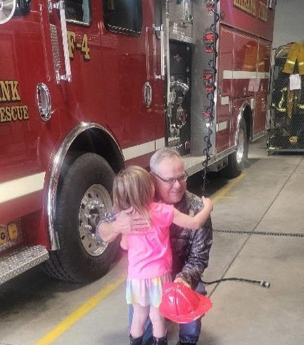Milbank Firefighters Visit Schools During Fire Prevention Week