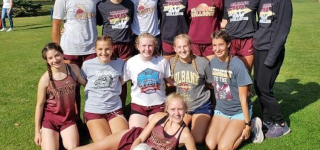 Lady Bulldogs Win NEC Cross Country Title
