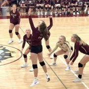 JV Volleyball Team Suffers Loss to Deubrook