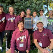 Girls Tennis Team Wins Sportsmanship Award at State Tourney